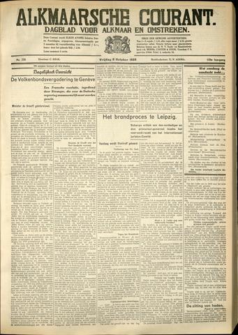 Alkmaarsche Courant 1933-10-06