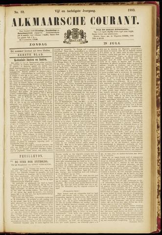 Alkmaarsche Courant 1883-07-29