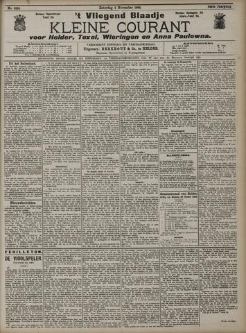 Vliegend blaadje : nieuws- en advertentiebode voor Den Helder 1906-11-03