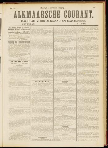 Alkmaarsche Courant 1911-04-08