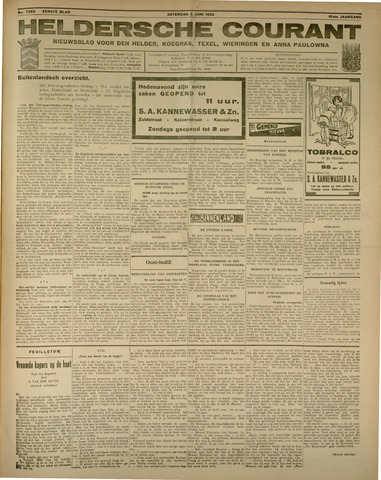 Heldersche Courant 1933-06-03