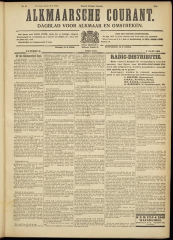 Alkmaarsche Courant 1928-01-07