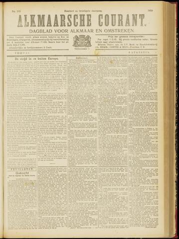 Alkmaarsche Courant 1918-08-09