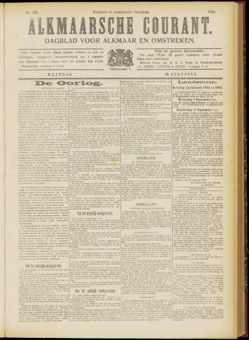 Alkmaarsche Courant 1915-08-30