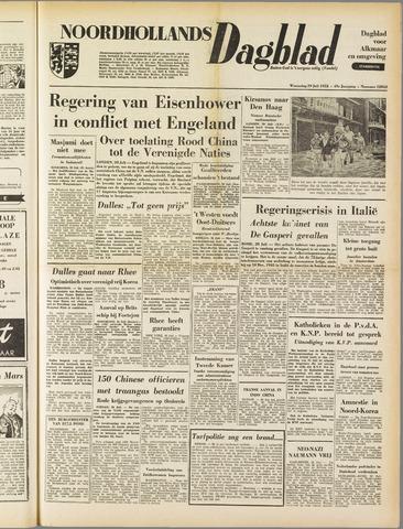 Noordhollands Dagblad : dagblad voor Alkmaar en omgeving 1953-07-29