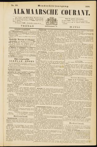 Alkmaarsche Courant 1898-07-29