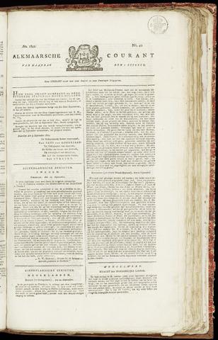 Alkmaarsche Courant 1821-10-01