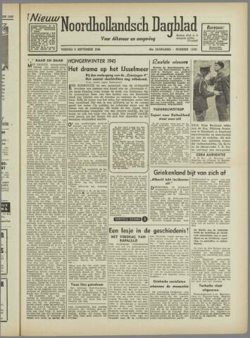 Nieuw Noordhollandsch Dagblad : voor Alkmaar en omgeving 1946-09-06