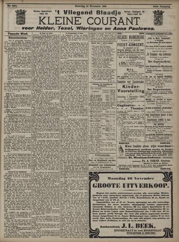 Vliegend blaadje : nieuws- en advertentiebode voor Den Helder 1906-11-24