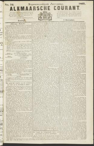 Alkmaarsche Courant 1867-12-08