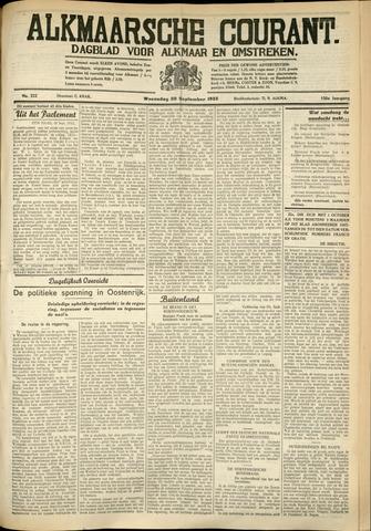Alkmaarsche Courant 1933-09-20