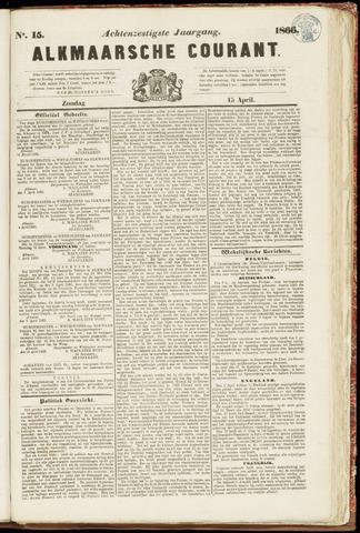 Alkmaarsche Courant 1866-04-15