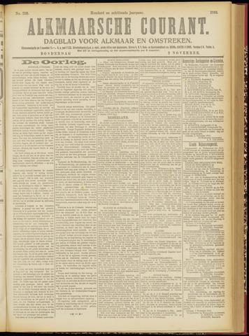 Alkmaarsche Courant 1916-11-02