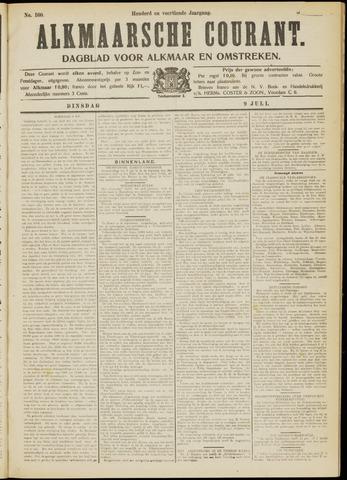 Alkmaarsche Courant 1912-07-09