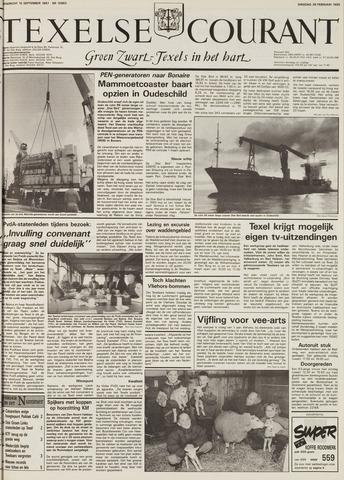 Texelsche Courant 1995-02-28