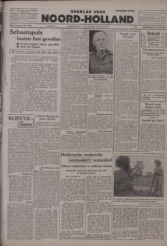 Dagblad Noord-Holland, Schager editie 1942-06-24