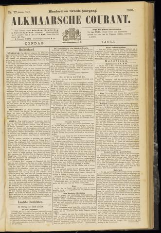 Alkmaarsche Courant 1900-07-01