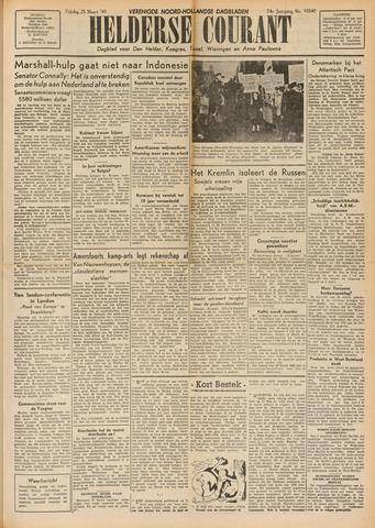 Heldersche Courant 1949-03-25