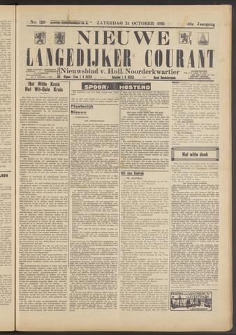 Nieuwe Langedijker Courant 1931-10-24