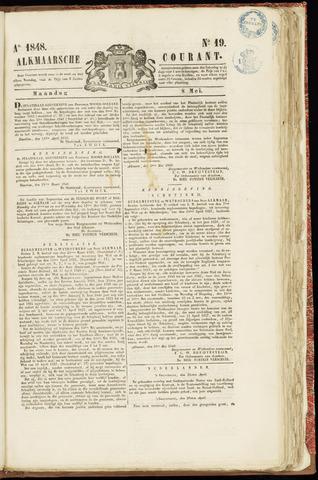 Alkmaarsche Courant 1848-05-08