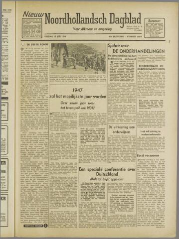 Nieuw Noordhollandsch Dagblad : voor Alkmaar en omgeving 1946-07-12