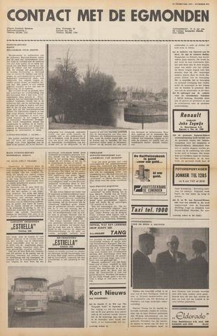 Contact met de Egmonden 1971-02-24