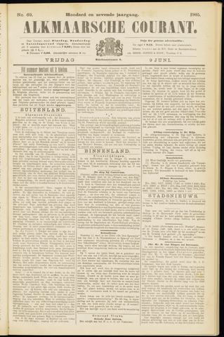 Alkmaarsche Courant 1905-06-09