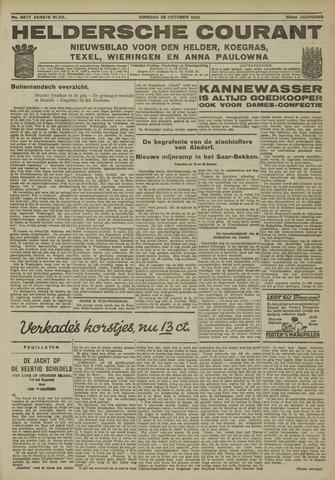 Heldersche Courant 1930-10-28