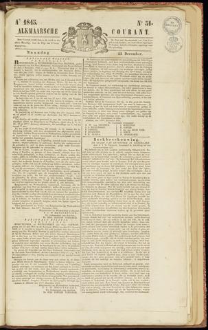 Alkmaarsche Courant 1845-12-22
