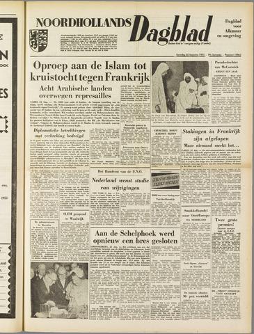 Noordhollands Dagblad : dagblad voor Alkmaar en omgeving 1953-08-22