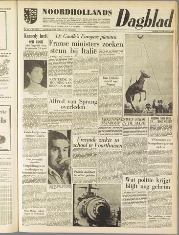 Noordhollands Dagblad : dagblad voor Alkmaar en omgeving 1960-11-25