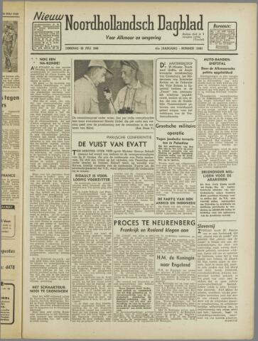 Nieuw Noordhollandsch Dagblad : voor Alkmaar en omgeving 1946-07-30