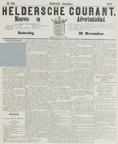 Heldersche Courant 1876-11-25
