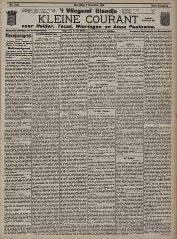 Vliegend blaadje : nieuws- en advertentiebode voor Den Helder 1910-12-07