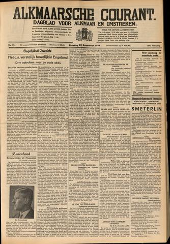 Alkmaarsche Courant 1934-11-20