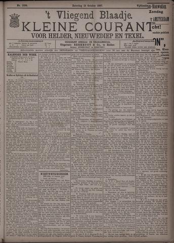 Vliegend blaadje : nieuws- en advertentiebode voor Den Helder 1887-10-15