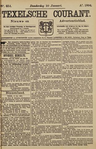 Texelsche Courant 1894-01-11