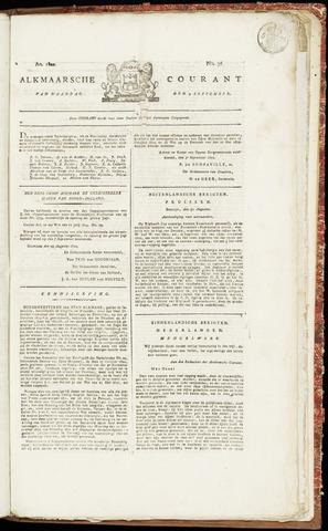 Alkmaarsche Courant 1822-09-09