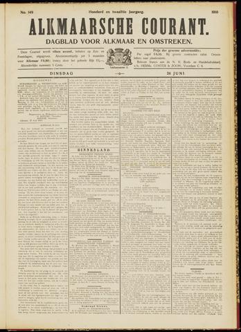 Alkmaarsche Courant 1910-06-28