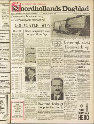 Noordhollands Dagblad : dagblad voor Alkmaar en omgeving 1964-07-16