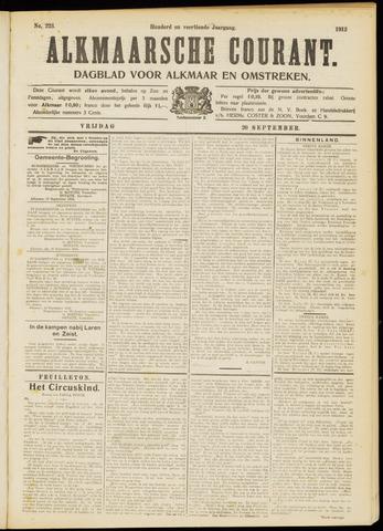 Alkmaarsche Courant 1912-09-20