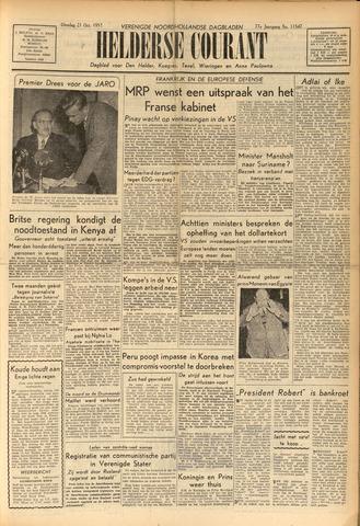 Heldersche Courant 1952-10-21