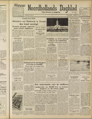 Nieuw Noordhollandsch Dagblad : voor Alkmaar en omgeving 1947-06-25