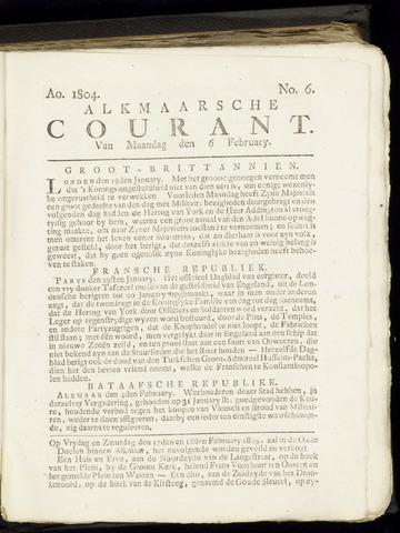 Alkmaarsche Courant 1804-02-06