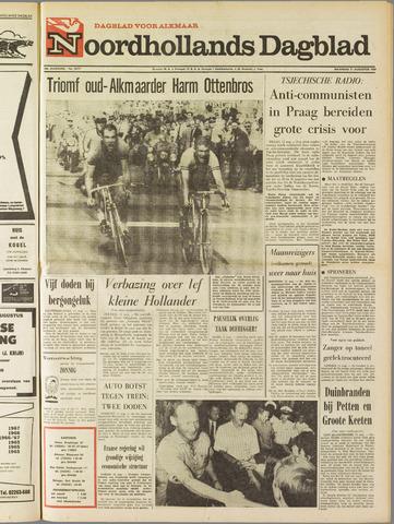 Noordhollands Dagblad : dagblad voor Alkmaar en omgeving 1969-08-11