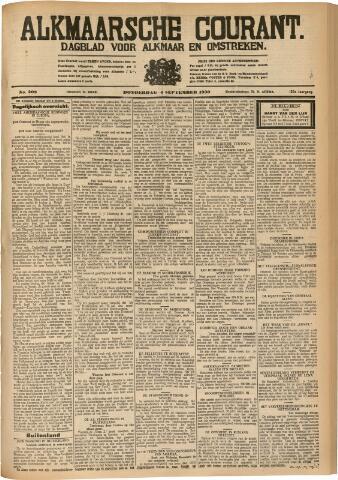 Alkmaarsche Courant 1930-09-04