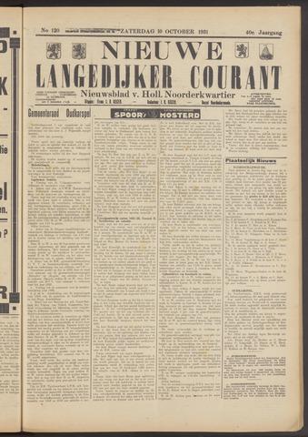 Nieuwe Langedijker Courant 1931-10-10