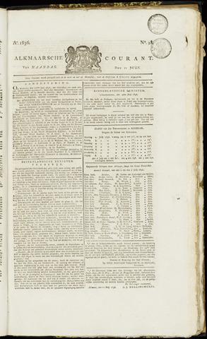 Alkmaarsche Courant 1836-07-11