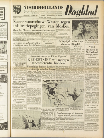 Noordhollands Dagblad : dagblad voor Alkmaar en omgeving 1958-07-21