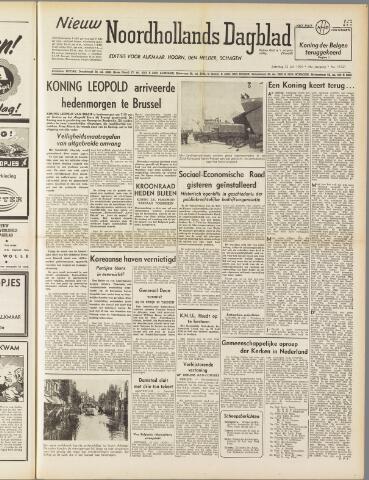 Nieuw Noordhollandsch Dagblad : voor Alkmaar en omgeving 1950-07-22